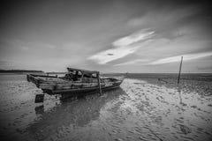 Πανόραμα φωτογραφιών BlackWhite του θαυμάσιου bintan νησιού batam στοκ φωτογραφία με δικαίωμα ελεύθερης χρήσης