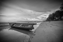 Πανόραμα φωτογραφιών BlackWhite του θαυμάσιου bintan νησιού batam στοκ εικόνες με δικαίωμα ελεύθερης χρήσης
