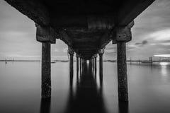 Πανόραμα φωτογραφιών BlackWhite του θαυμάσιου bintan νησιού batam στοκ φωτογραφίες με δικαίωμα ελεύθερης χρήσης
