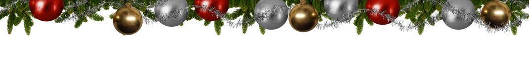 Πανόραμα Χριστουγέννων Στοκ φωτογραφία με δικαίωμα ελεύθερης χρήσης