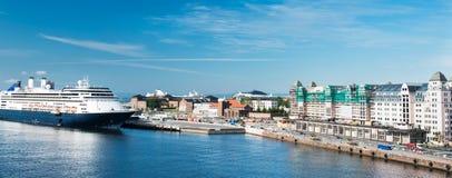 Πανόραμα Όσλο Στοκ εικόνες με δικαίωμα ελεύθερης χρήσης