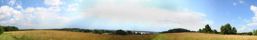 πανόραμα Στοκ Εικόνες