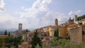Πανόραμα Assisi, Ουμβρία, Ιταλία φιλμ μικρού μήκους