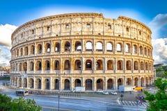 Πανόραμα Colosseo Στοκ φωτογραφίες με δικαίωμα ελεύθερης χρήσης