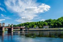 Πανόραμα Kaunas Στοκ εικόνα με δικαίωμα ελεύθερης χρήσης