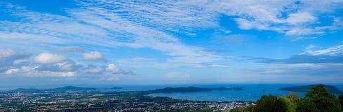 Πανόραμα phuket Στοκ Φωτογραφία