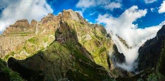Πανόραμα Pico do Arieiro Στοκ Φωτογραφία