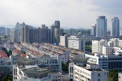 πανόραμα s πόλεων της Κίνας zhejian Στοκ φωτογραφία με δικαίωμα ελεύθερης χρήσης
