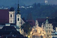 Πανόραμα Steyr στοκ φωτογραφία