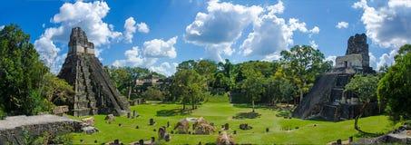 Πανόραμα Tikal Γουατεμάλα Στοκ Εικόνες