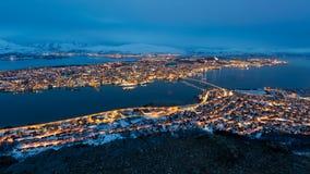 Πανόραμα Tromso Στοκ εικόνες με δικαίωμα ελεύθερης χρήσης