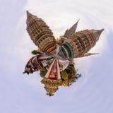360 πανόραμα Wat Phra Chettuphon Wimon Mangkhalaram Ratchaworamahawihan Wat Pho Στοκ φωτογραφίες με δικαίωμα ελεύθερης χρήσης