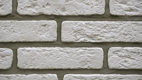 Παν άσπρο διακοσμητικό τούβλο το σπίτι σας Σκηνικό πλινθοδομής Μοναδικός φραγμός σχεδίων φιλμ μικρού μήκους