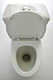 παν λευκό τουαλετών Στοκ Εικόνες