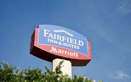 Πανδοχείο & ακολουθίες Fairfield στοκ φωτογραφία με δικαίωμα ελεύθερης χρήσης