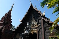 Παν Toa Wat ναός Ταϊλάνδη στοκ φωτογραφίες