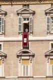 Παπάς Angelus σε Βατικανό Στοκ Φωτογραφίες
