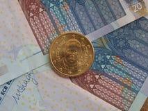 Παπάς Francis Ι νόμισμα Στοκ Φωτογραφία
