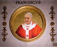 Παπάς Francis στοκ φωτογραφία