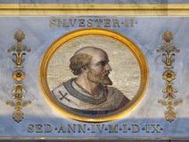 Παπάς Sylvester ΙΙ Στοκ φωτογραφία με δικαίωμα ελεύθερης χρήσης