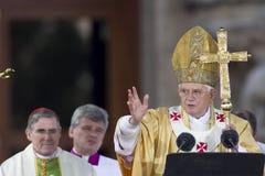 παπάς XVI του Benedict Στοκ Φωτογραφίες