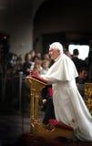 παπάς XVI του Benedict Στοκ Φωτογραφία