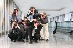 παπαράτσι Στοκ φωτογραφία με δικαίωμα ελεύθερης χρήσης