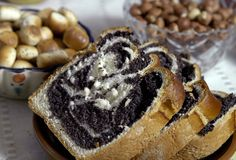 παπαρούνα κέικ Στοκ εικόνα με δικαίωμα ελεύθερης χρήσης