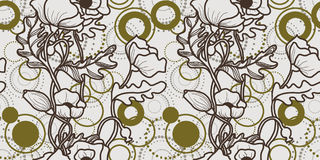 παπαρούνα προτύπων Στοκ φωτογραφία με δικαίωμα ελεύθερης χρήσης