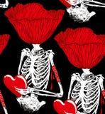 Παπαρούνα σκελετών Στοκ Εικόνες
