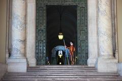 Παπική ελβετική φρουρά Στοκ εικόνες με δικαίωμα ελεύθερης χρήσης