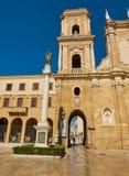 Παπικός καθεδρικός ναός βασιλικών του Μπρίντιζι, Apulia, Ιταλία στοκ φωτογραφία