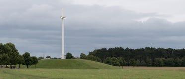 Παπικός σταυρός στο πάρκο του Phoenix, Δουβλίνο, Ιρλανδία στοκ φωτογραφία με δικαίωμα ελεύθερης χρήσης