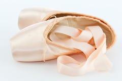Παπούτσια ή παντόφλες σημείου μπαλέτου Στοκ Εικόνες