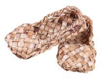 παπούτσια ίνας ραφίας Στοκ Εικόνες