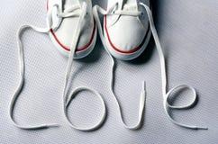 Παπούτσια αγάπης Στοκ Εικόνες