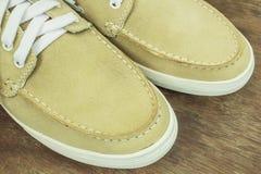 Παπούτσια ατόμων δέρματος Στοκ εικόνα με δικαίωμα ελεύθερης χρήσης