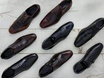 παπούτσια ατόμων s δέρματος Στοκ φωτογραφίες με δικαίωμα ελεύθερης χρήσης