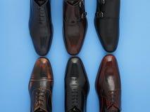 παπούτσια ατόμων s δέρματος Στοκ εικόνα με δικαίωμα ελεύθερης χρήσης