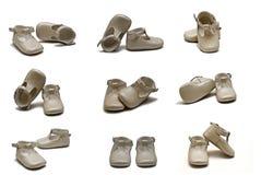 παπούτσια βαπτίσματος Στοκ φωτογραφία με δικαίωμα ελεύθερης χρήσης