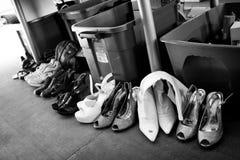Παπούτσια για την πώληση Στοκ εικόνα με δικαίωμα ελεύθερης χρήσης