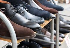 Παπούτσια για την πώληση Στοκ φωτογραφίες με δικαίωμα ελεύθερης χρήσης