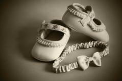 Παπούτσια για το μικρό κορίτσι Στοκ Φωτογραφία