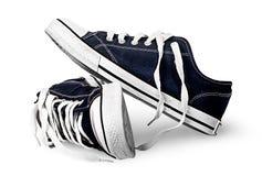 Παπούτσια γυμναστικής που απομονώνονται ο ένας στον άλλο Στοκ Εικόνες