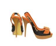 Παπούτσια γυναικών Στοκ εικόνα με δικαίωμα ελεύθερης χρήσης
