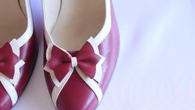 Παπούτσια γυναικών s απόθεμα βίντεο
