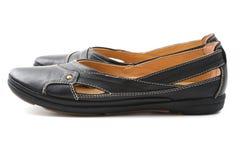 παπούτσια δέρματος Στοκ Φωτογραφίες