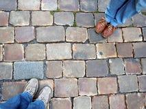 παπούτσια δύο ζευγών Στοκ φωτογραφία με δικαίωμα ελεύθερης χρήσης