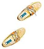 παπούτσια ζευγαριού γε&ph Στοκ Εικόνες