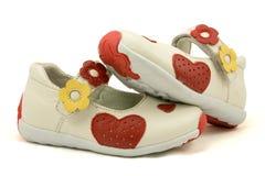 παπούτσια ζευγαριού μωρώ&n Στοκ εικόνα με δικαίωμα ελεύθερης χρήσης